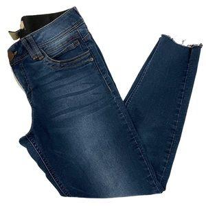 "Democracy ""Ab"" Technology Jeans Blue Size 6"